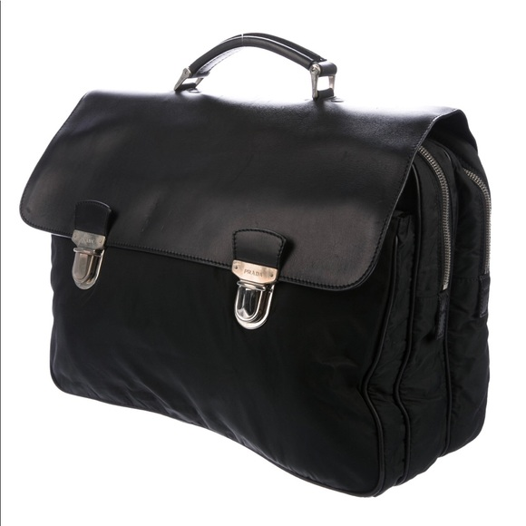 15a232d4fbd0 Prada Bags   Authentic Briefcase With Nylon And Leather   Poshmark